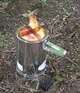 pyrolysis camp stove
