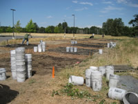 field demo in community garden